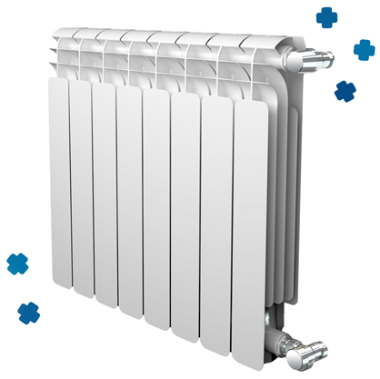 verwarming en radiator design